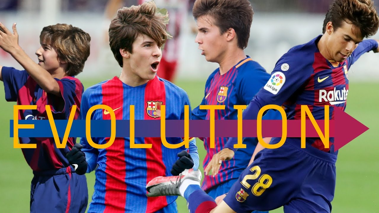 EXCLUSIVE FOOTAGE: The evolution of Riqui Puig