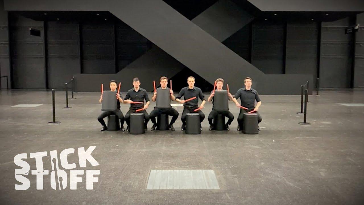 STICKSTOFF – Bucket Drum Warm Up Routine [Behind the Scenes]