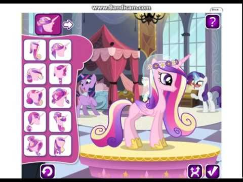 I Play : Rarity's Wedding Dress Designer Game Online - YouTube