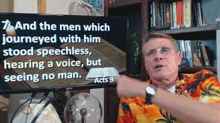 Dr. Kent Hovind 11-30-17 Acts 9, Anderson video, updates
