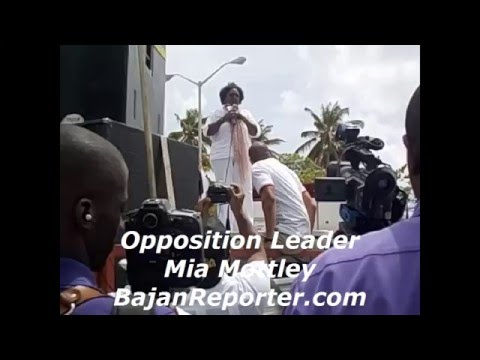 Barbados' Opposition Leader - People have the power, not people in power