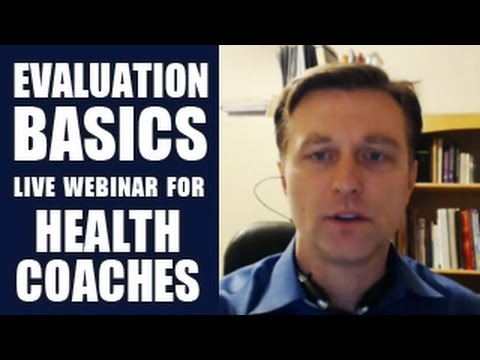 Evaluation Basics Live Webinar for Health Coaches