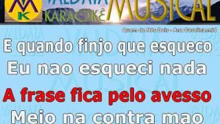 Quem de Nós Dois Ana Carolina Karaoke