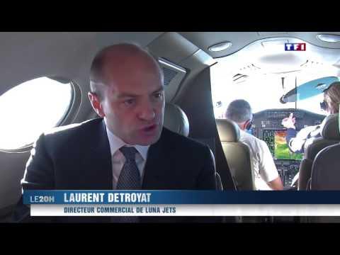 Private jet charter app   Lunajets  TF1 news night 9o 6d5u1FhY