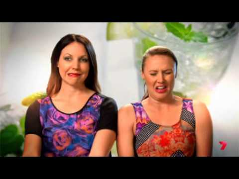 My Kitchen Rules 2014 Chloe and Kelly