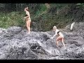 Extreme Girls Bikini Models In Africa Devil's Pools At Victoria Falls Beautiful Video. Zambia