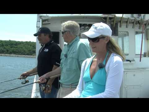 Hingham, MA - Fishing For Flounder