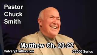40 Matthew 20-22 - Pastor Chuck Smith - C2000 Series