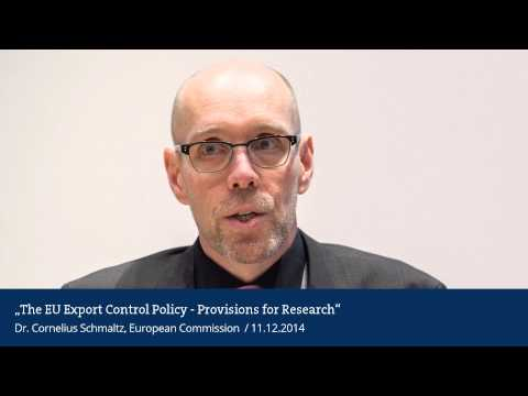 The EU Export Control policy – Provisions for Research