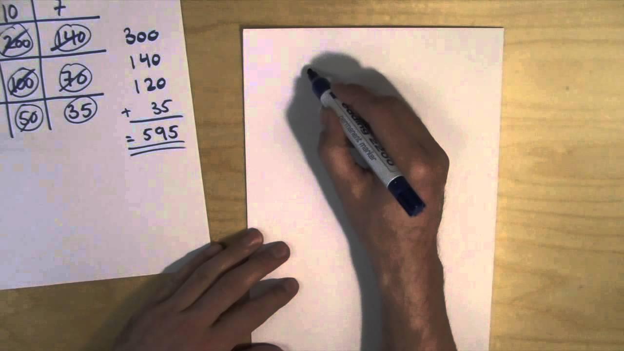 Matte gjort enklere #1 - multiplikasjon (metode 1)