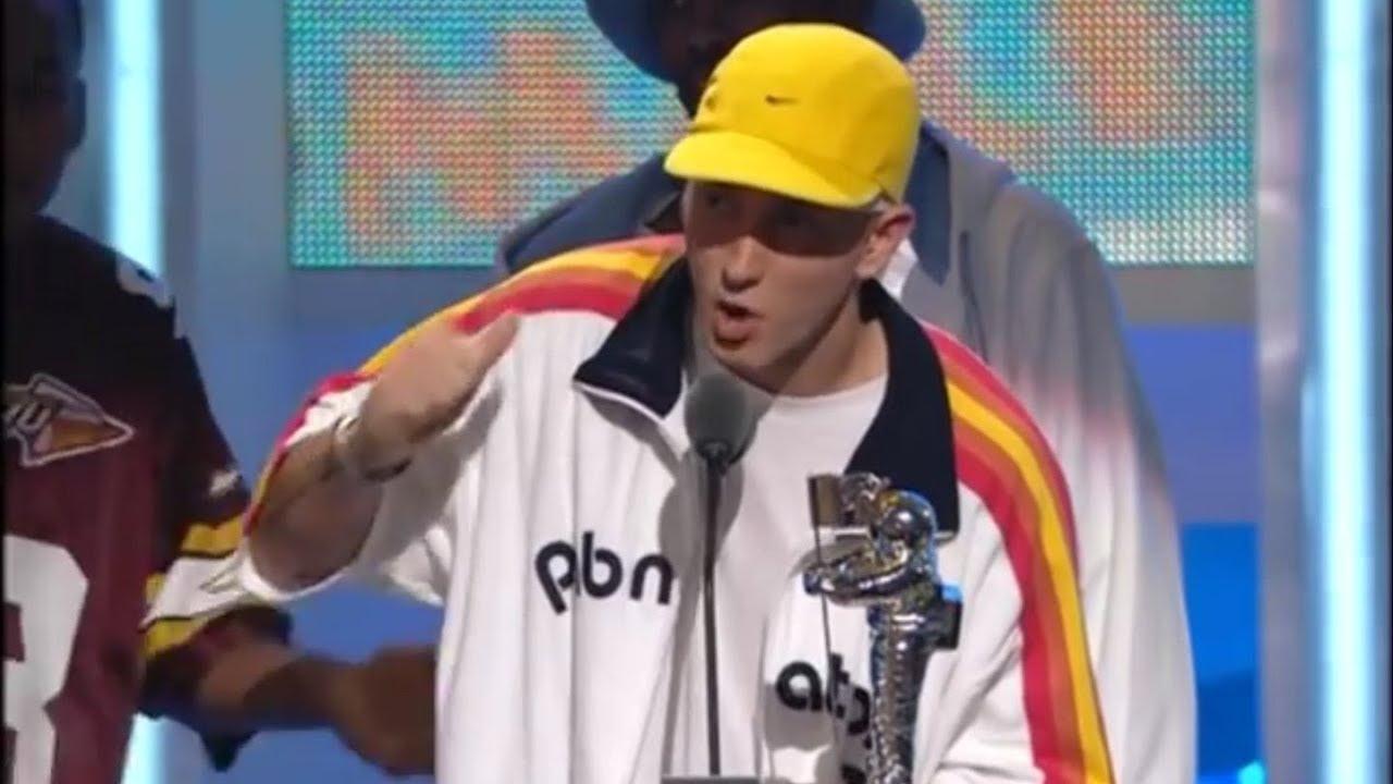 Eminem At The MTV VMA 2002 HD