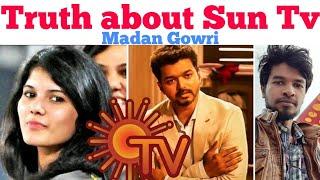 Truth About SUN TV   Tamil   Madan Gowri   MG