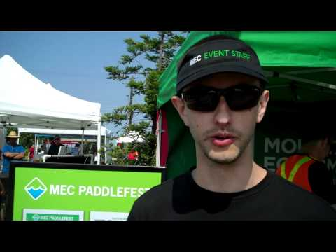 Douglas Acorn Discusses MEC Paddlefest