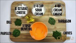 The Chew  - Cheesy Herb Dip Recipe