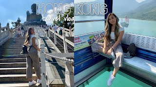 HONG KONG 2019 TRAVEL VLOG: ngong ping 360, big buddha, & yummy eats