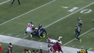 Seattle Seahawks Throw The Falcons Off With A Pooch Kick And Recover It! | NFL