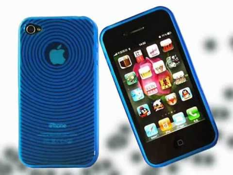 Fingerprint Circle Grain TPU Case for iPhone 4 4G usd $0.4 @ Tvc-Mall.com