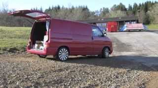 Our New Van and us. Vw Transporter t4