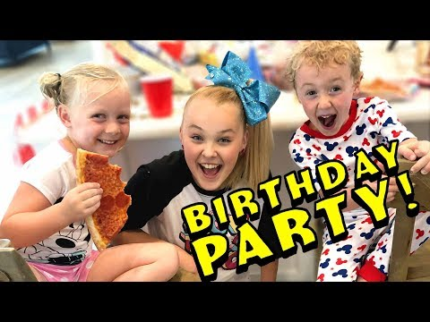 Parker's Turns Five! Sleepover Birthday Party SPECIAL w/ JoJo Siwa, Colleen Ballinger and.. Zendaya?