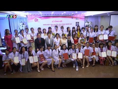 Lễ tốt nghiệp khóa đào tạo ngành làm đẹp ASIA2017
