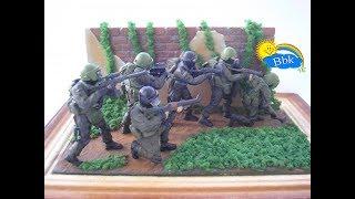 Домашние сражения игрушек ↑ Военные солдатики, нёрфы, роботы, пришельцы ↑ Обзор игрушек