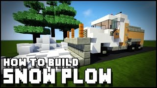 ► Minecraft : How to Make - Snow Plow