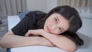 八田エミリの寝姿見る?今日からこのマットレスで寝ます