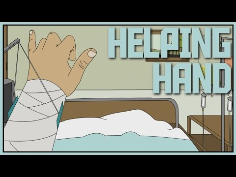 Helping Hand - HORRIBLE ACCIDENT [Let's Play Helping Hand Gameplay]