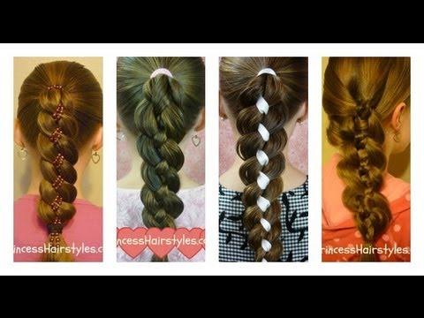 four 4 strand braid tutorial