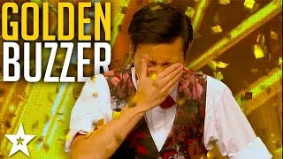 CRAZY MAGICIAN gets GOLDEN BUZZER!? | Asia's Got Talent 2017 | Got Talent Global