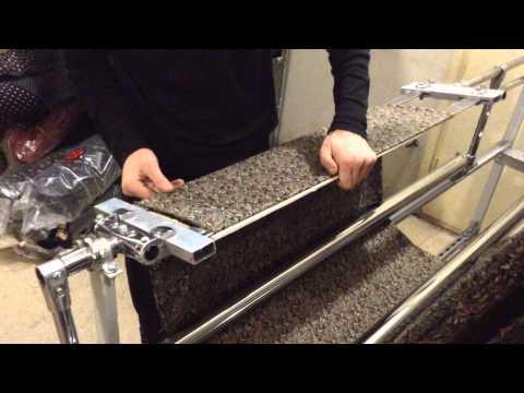 DIY Double folding machine