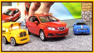 Bussy & Speedy Make a SEAT IBIZA CRASH Demo - Kid