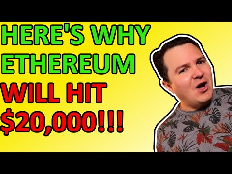 HERE'S WHY $20,000 ETHEREUM IS NOT CRAZY! MY PRICE PREDICTION EXPLAINED! Daily Crypto News