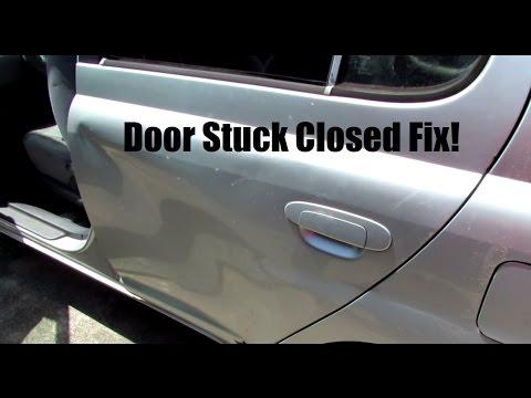Toyota Echo S01e03 Getting A Stuck Car Door Open Youtube