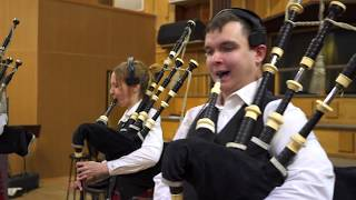 GAEL - the Last of the Mohicans (cover) Moscow & District Pipe Band, Globalis