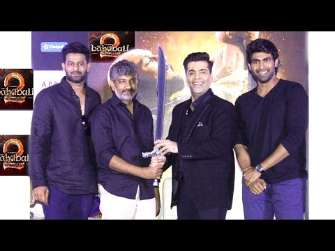 Thumbnail: Baahubali 2 Trailer 2017 Launch Full Video HD | Rajamouli,Prabhas,Rana Dagubatti,Karan | Part 1