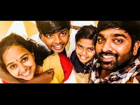 Vijay Sethupathi & Family Celebrates his Wedding Anniversary | Hot Tamil Cinema News thumbnail