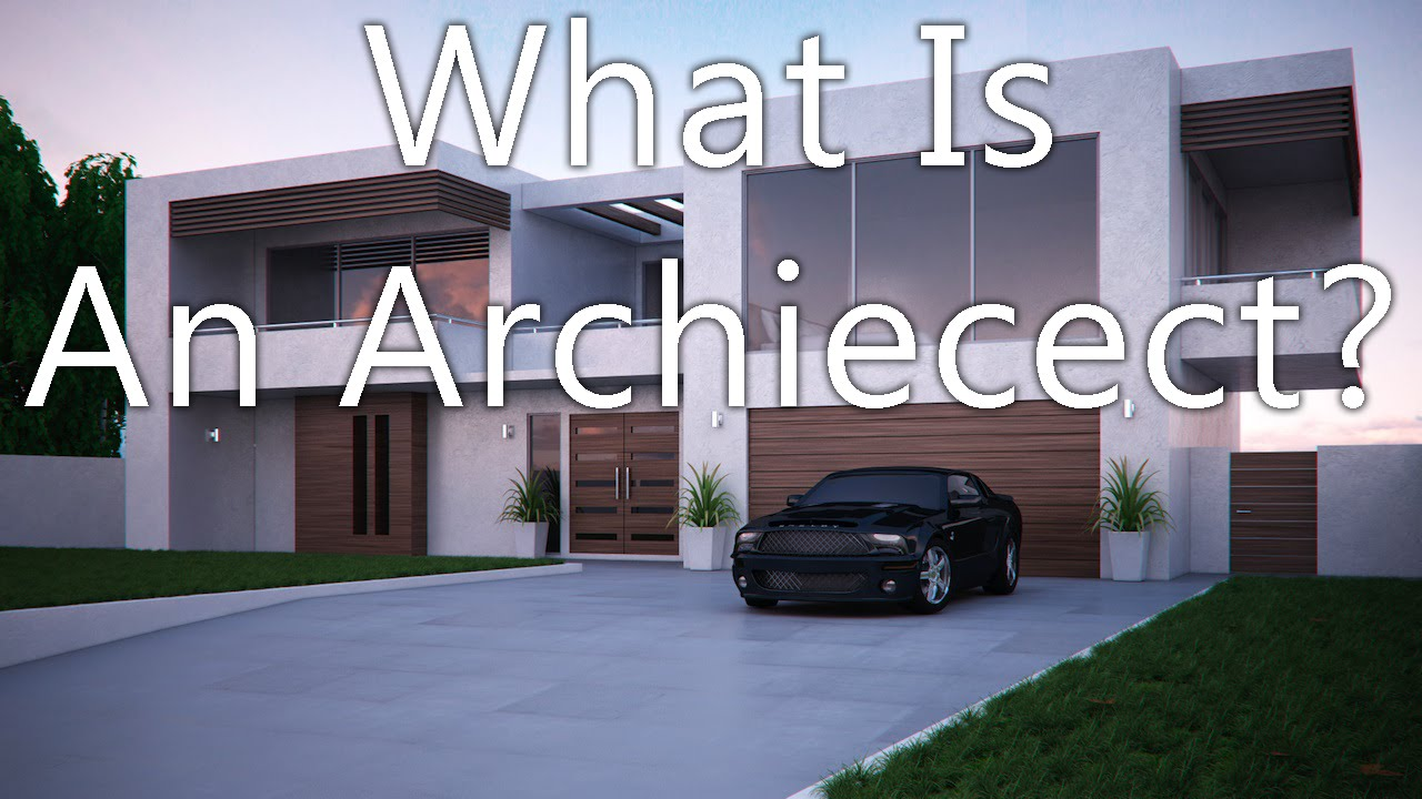 what is an architect youtube