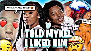 Download I TOLD MYKEL I LIKED HIM! ( WON'T BELIEVE WHAT HE SAID )