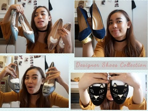 Designer Shoes Collection di London/Koleksi Sepatu branded| Valentino, Charlotte Olympia,etc.