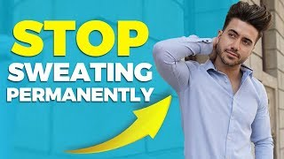 How To STOP Armpit Sweat PERMANENTLY | Alex Costa