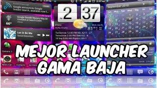 MEJOR Launcher para Dispositivos GAMA BAJA!!! AndroideHD