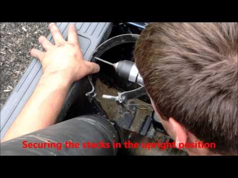 Mounting Smoke Stacks in a Diesel Truck