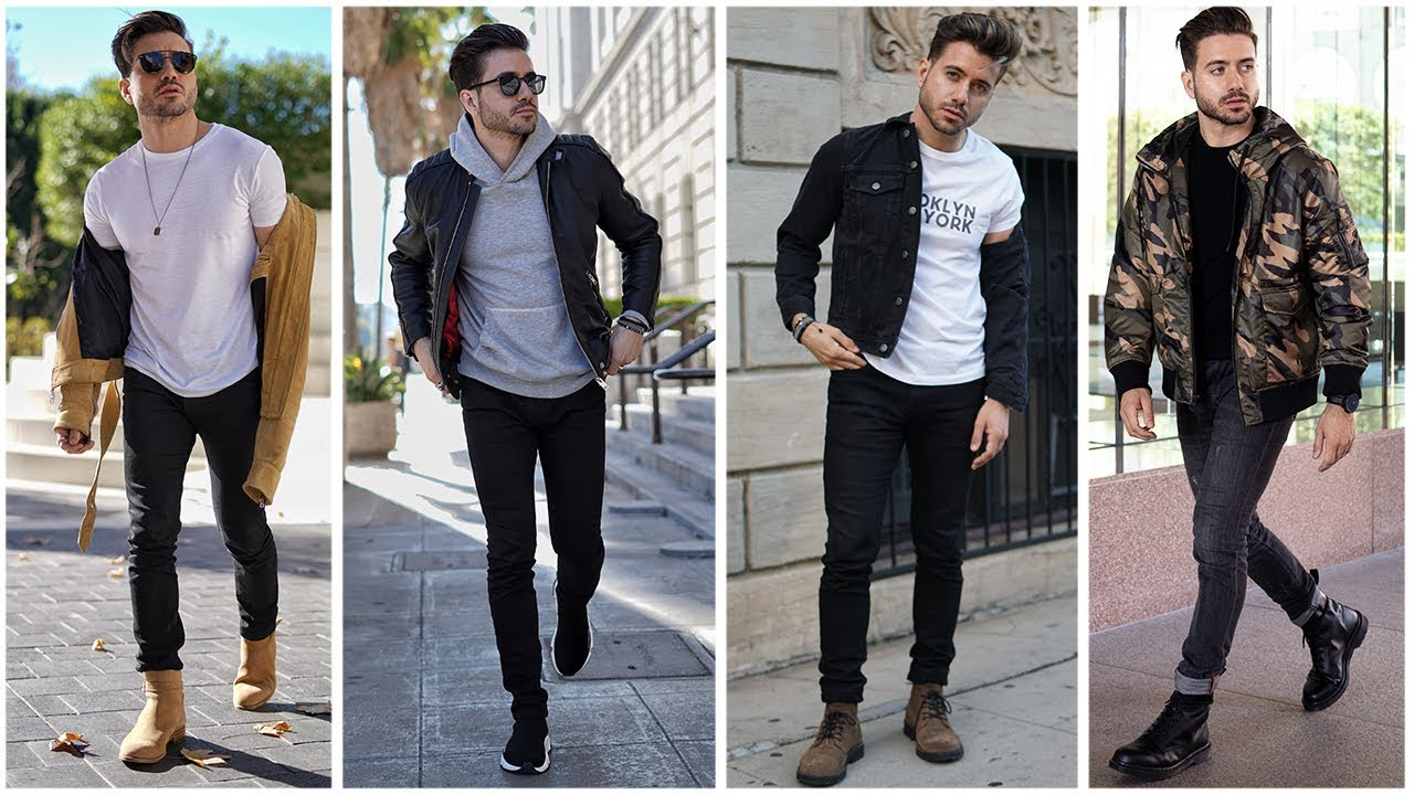 MEN'S OUTFIT INSPIRATION | Men's Fashion Lookbook 2019 | 3 Easy Outfits for Men 3