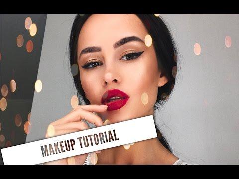 makeup tutorial: вечерний макияж