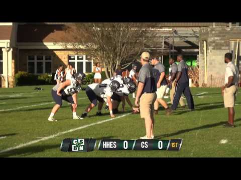 LIVE: Christ School Varsity Football vs. Heathwood Hall Episcopal School