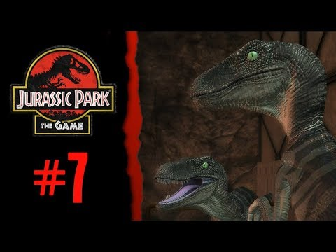 Chaos On Nublar With Raptors And Rexy! - Jurassic Park: The Game - Part 7