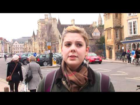 Oxford University students have their say