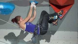 Escalade - Finale difficulté femme championnats du monde Bercy 2012 - Johanna Ernst