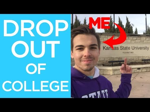 Why I dropped out of College... And you should too